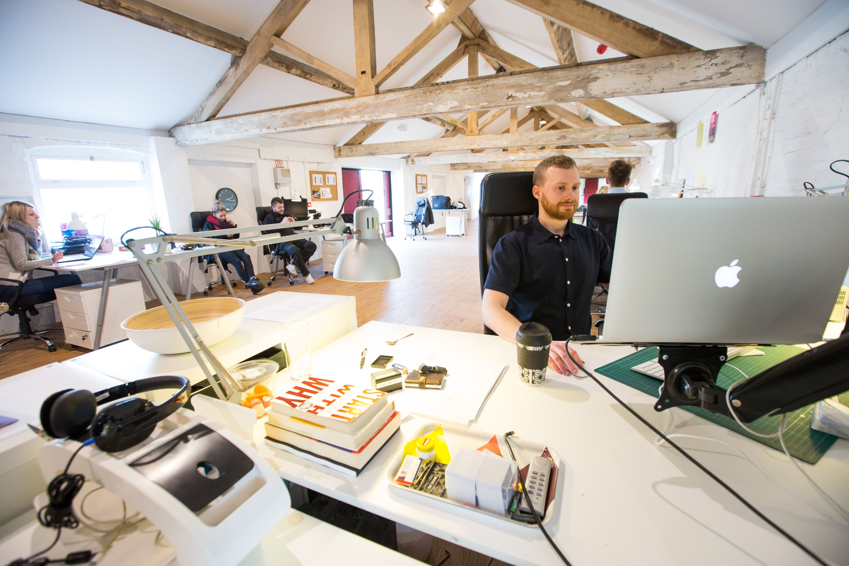 Modern Office Space | Fun website design, Ux design, Design