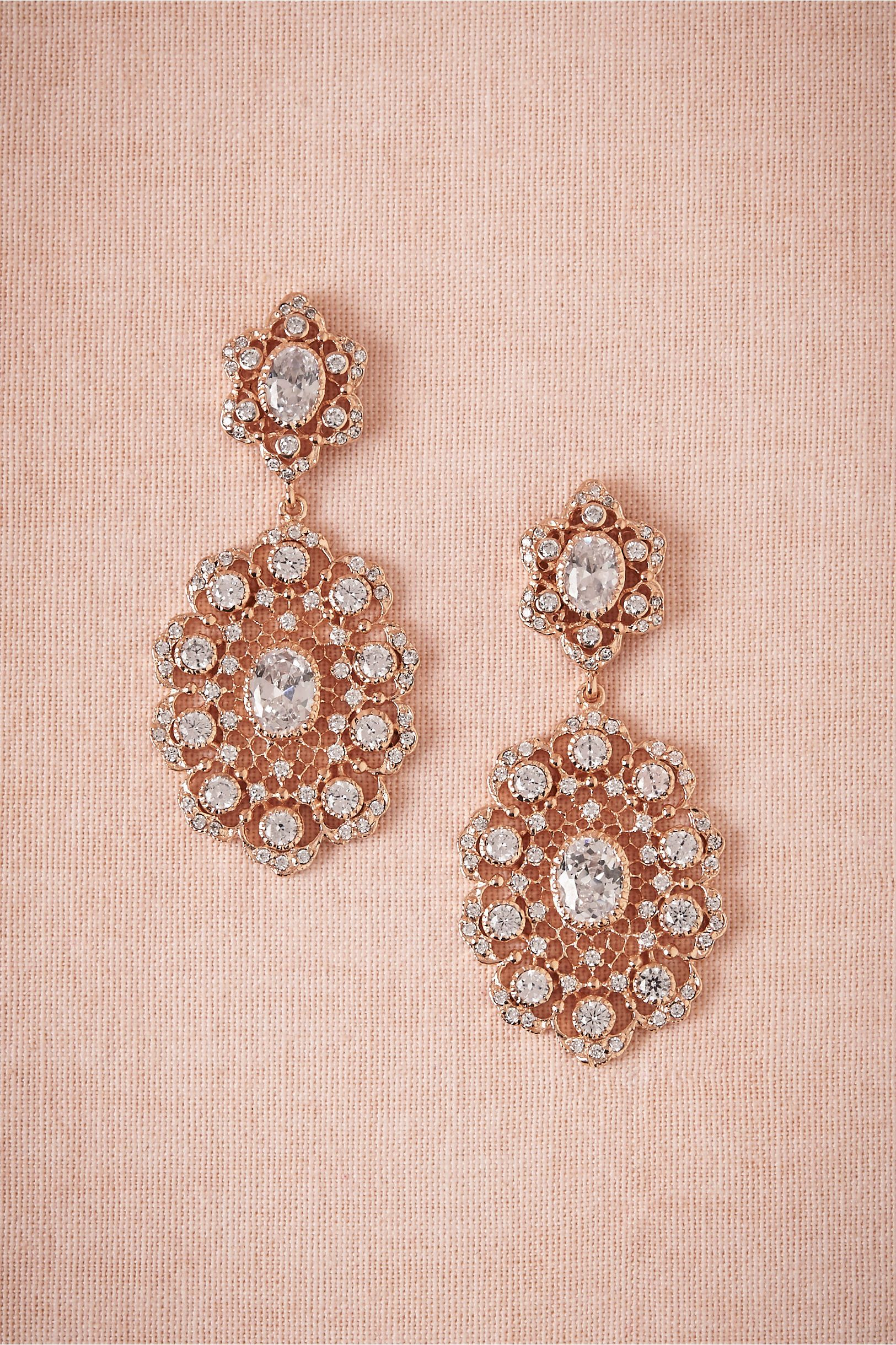 Rose Gold Chandeliers by Kenneth Jay Lane BHLDN