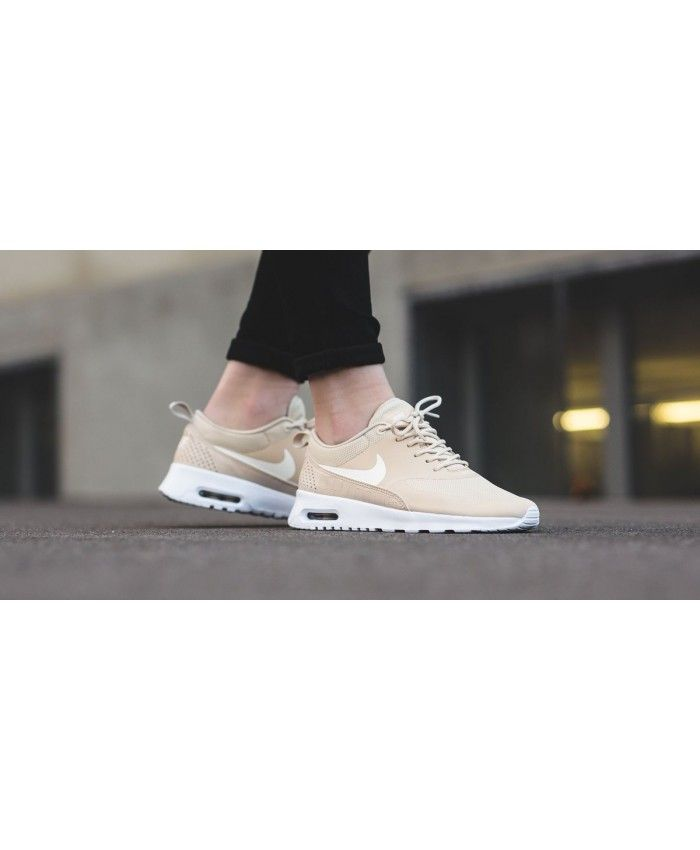 detailed pictures 284c1 71dcc Nike Wmns Air Max Thea Oatmeal Sail White Sale