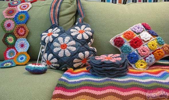 نوار العزايزة تعلن عن جديدها في عالم الأشغال اليدوية Diaper Bag Bags Crochet