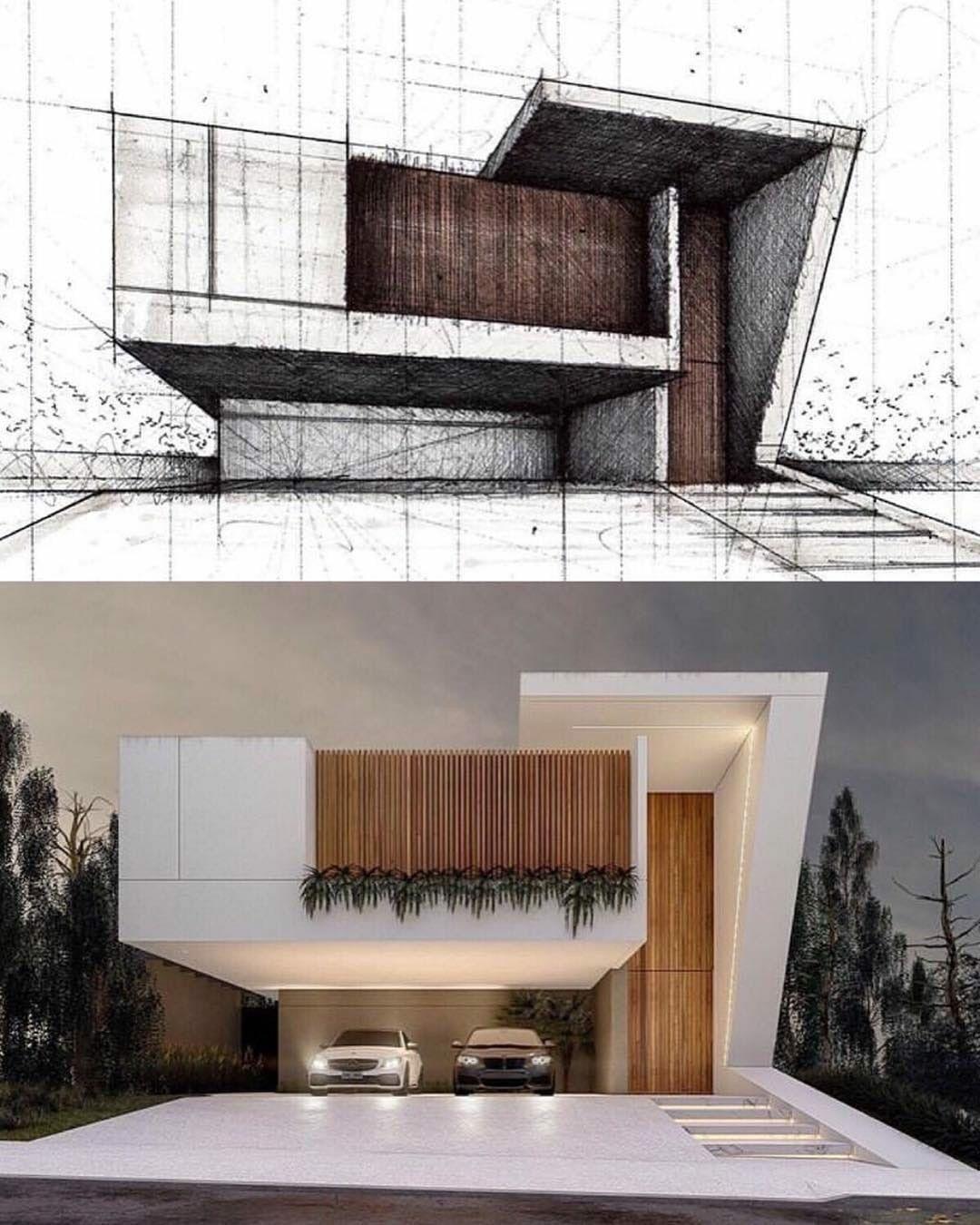 Pin de mario molinas en protocasa en 2019 pinterest for Casa moderna 64