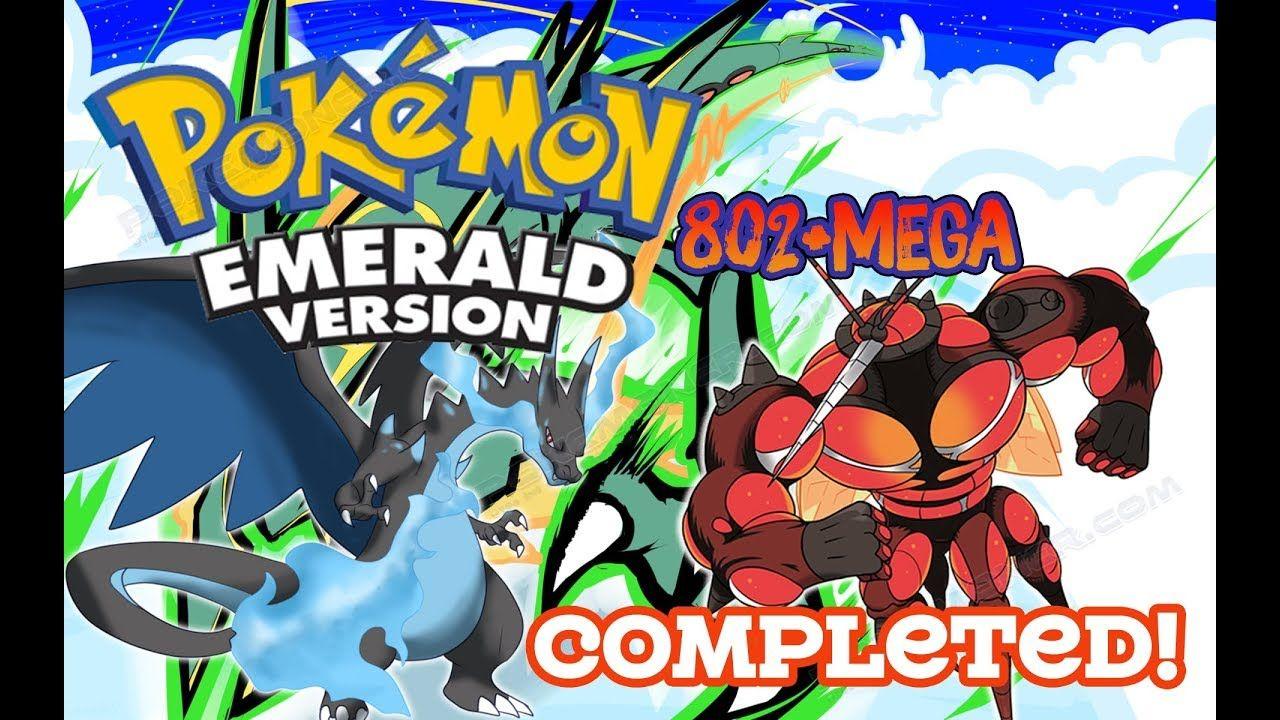 Https Youtu Be Szff20udrgk Pokemon Emerald 802mega V3 0 Completed Gameplay Download