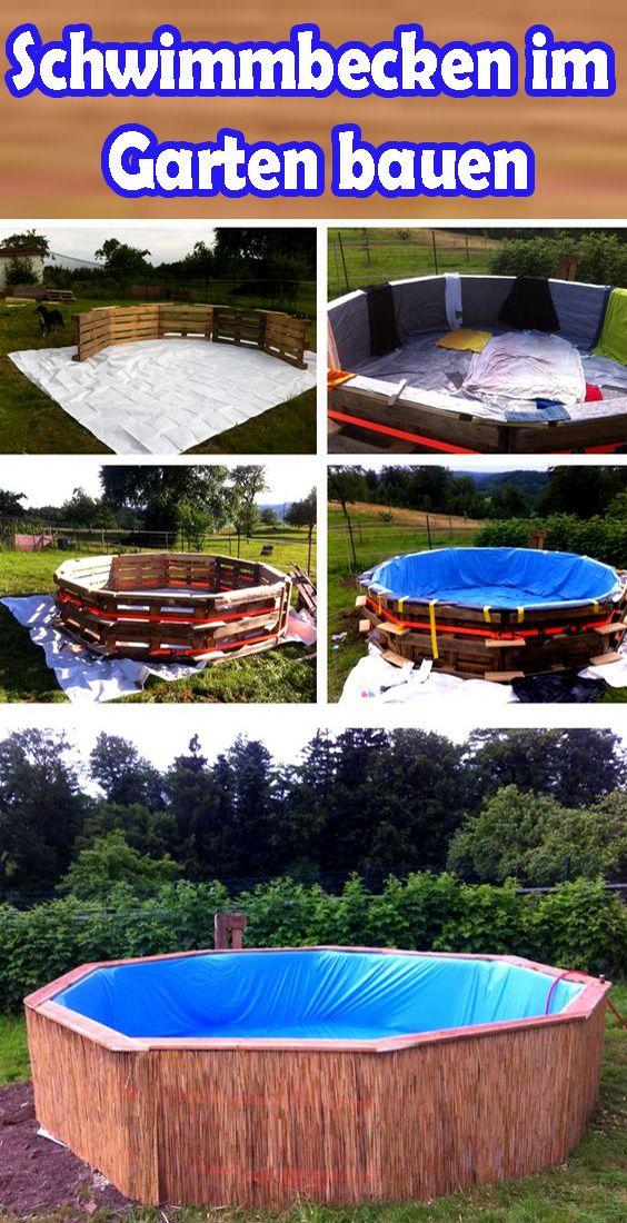 Pool im Garten: Das eigene Schwimmbad bauen #poolimgartenideen