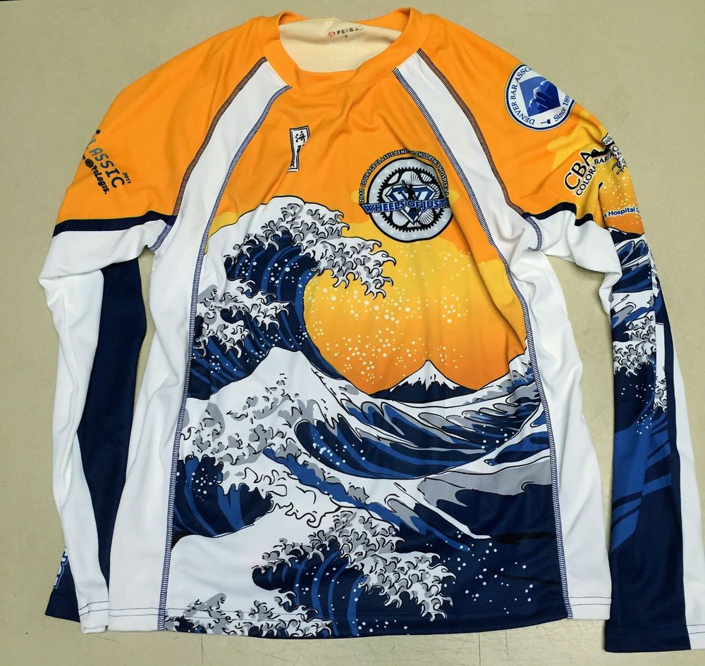 Japanese Bike Jersey Hokusai the Wave Primal  Primal  Jerseys  bb9d2e342