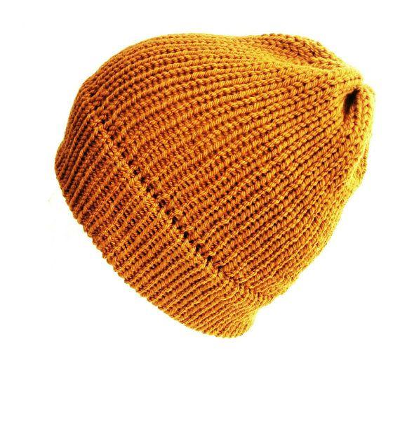 892c796c1d0 Mustard yellow beanie hat trawler beanie wool hat women hats