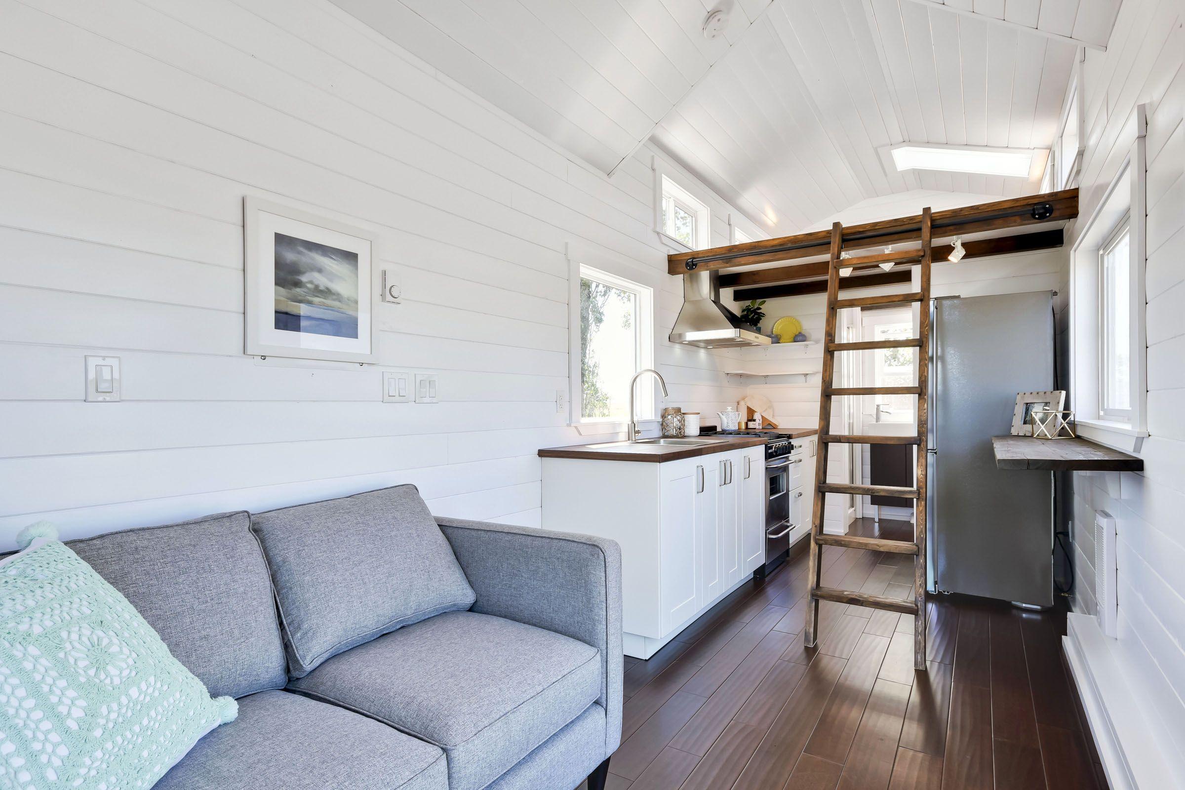 Interior Tiny Home/ Mint Tiny Homes | 24ft | Custom Build ...