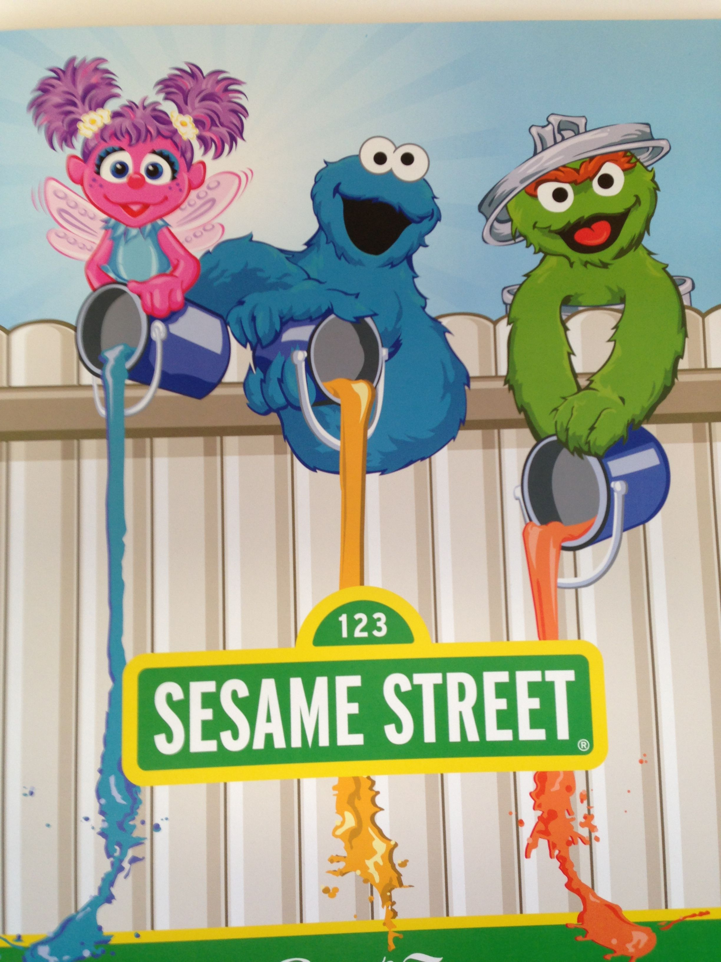 sesame street christmas ornament