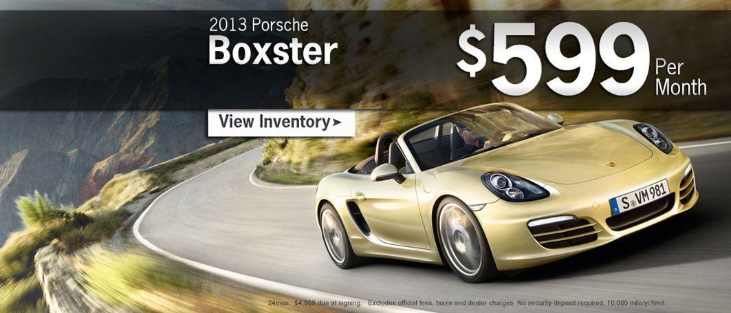 Porsche Boxster Special!