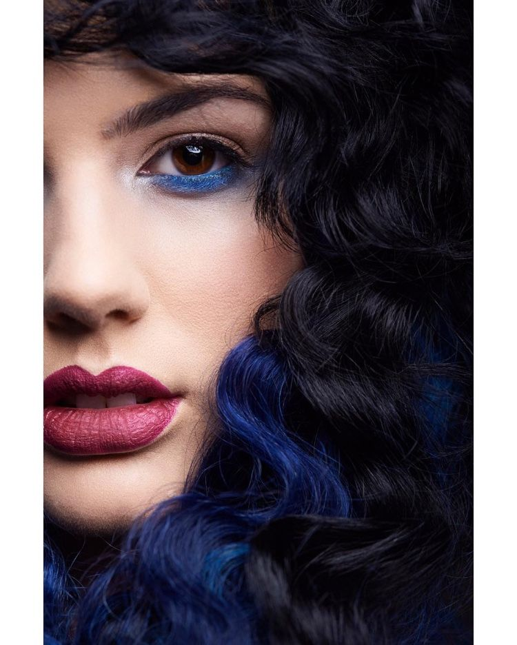 Bellissimo Tribe Has Combined Jet Black Hair With Midnight Blue