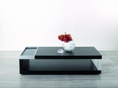 Best Modrest Gemstone Modern Black Oak Coffee Brown Table 400 x 300