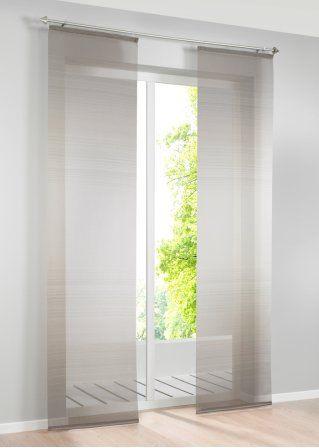 die besten 25 schiebegardine ideen auf pinterest fl chenvorh nge plissee gardinen und. Black Bedroom Furniture Sets. Home Design Ideas