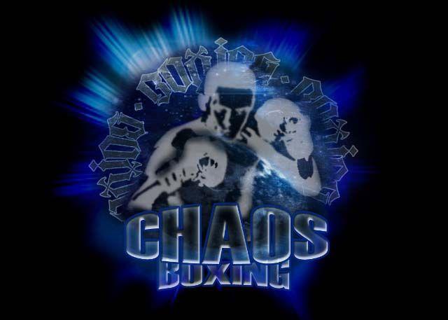 Chaos Boxing logo design