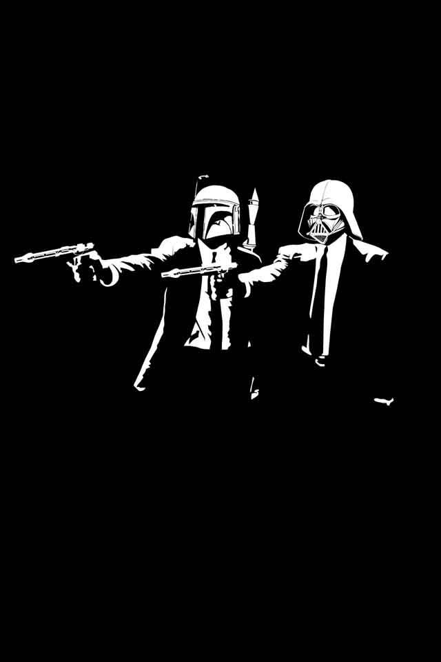 Star Pulp Fiction Wars Star Wars Wallpaper Star Wars Art Star