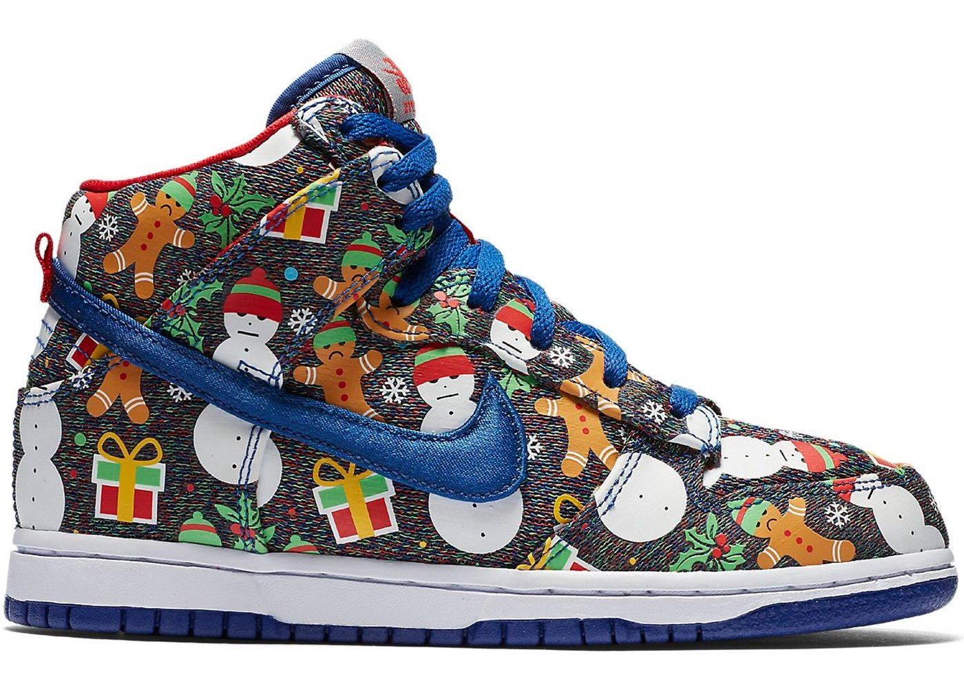 Nike SB Dunk High Concepts Ugly Christmas Sweater 2017 (PS ... a1d8864e3658