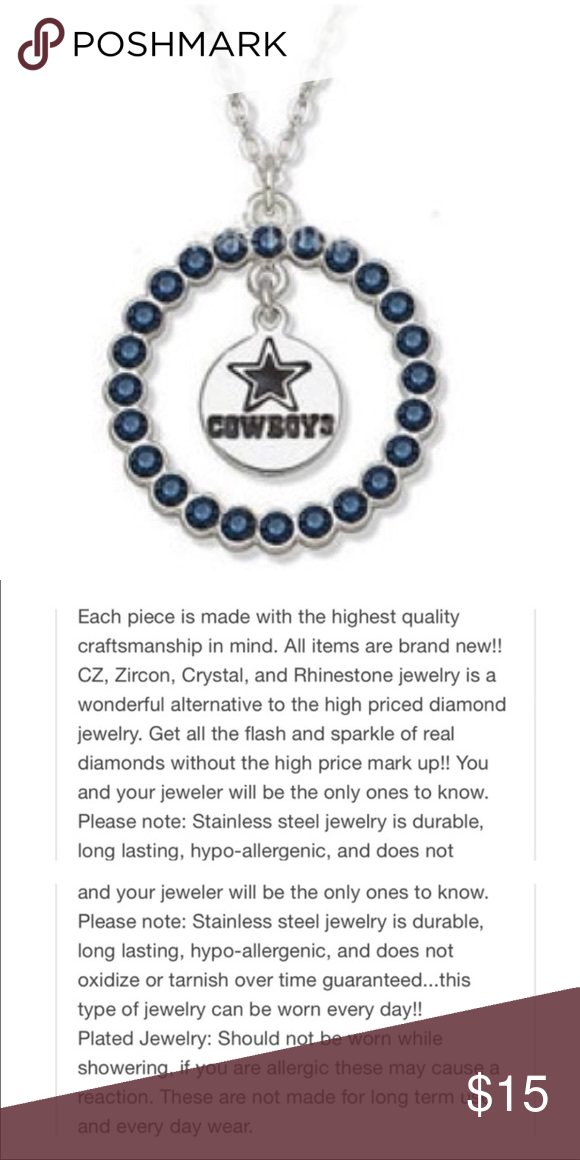 New dallas cowboys pendant and chain aloadofball Images