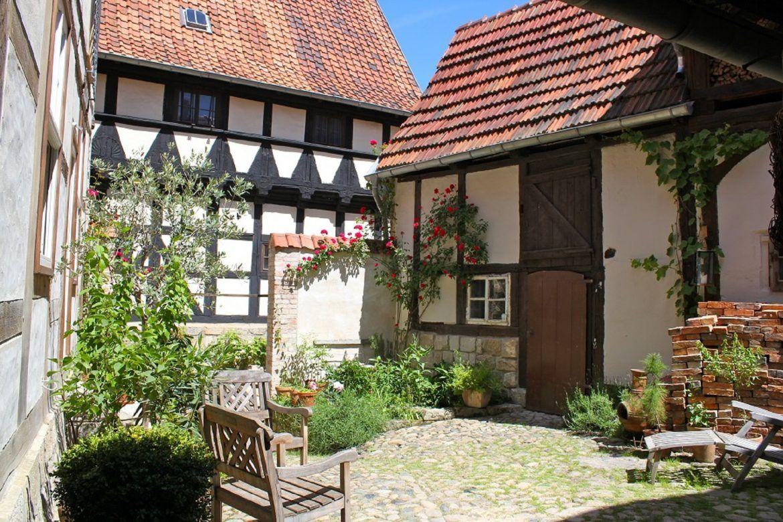 Himmlischer Hof, Ferienwohnung, Harz, Quedlinburg