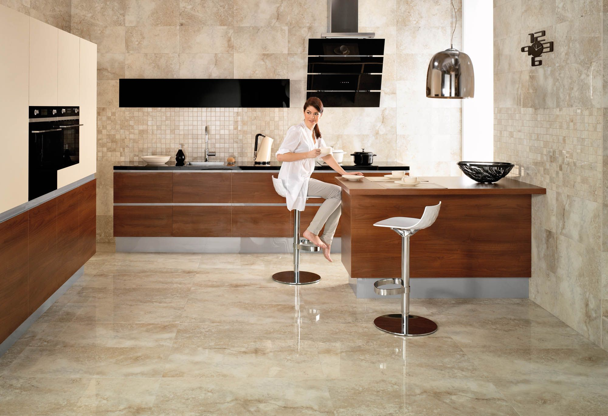 modern kitchen floor tile designs roselawnlutheran - Modern Kitchen Flooring Ideas