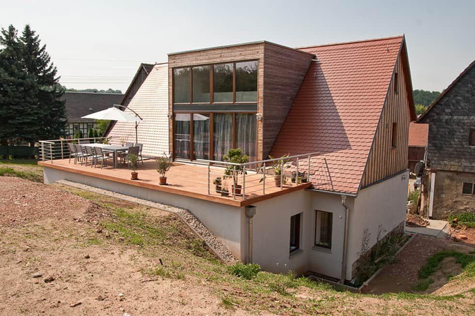 Neue dachgaube mit terrasse ahoch4 architekten