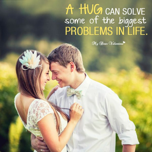 Hug Someone - Love Picture Quote