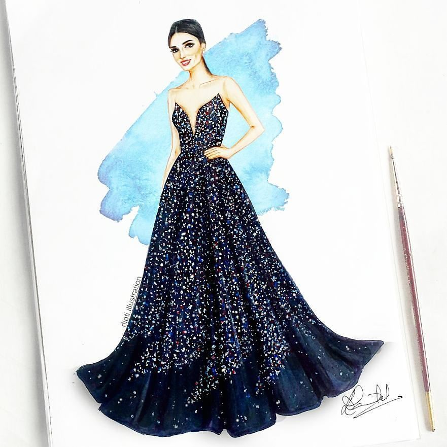 Ahaaa As Lovely Fashion Illustration Sketches Dresses Dress Design Sketches Fashion Drawing Dresses
