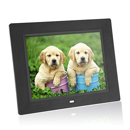 ANDOER® 8 PULGADAS MARCO DE FOTO DIGITAL ULTRAFINO HD TFT-LCD ...