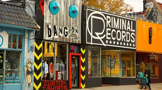 Five Points Atlanta | Little Five Points - Atlanta - Go to criminal records for music, toys & best of all comic books!