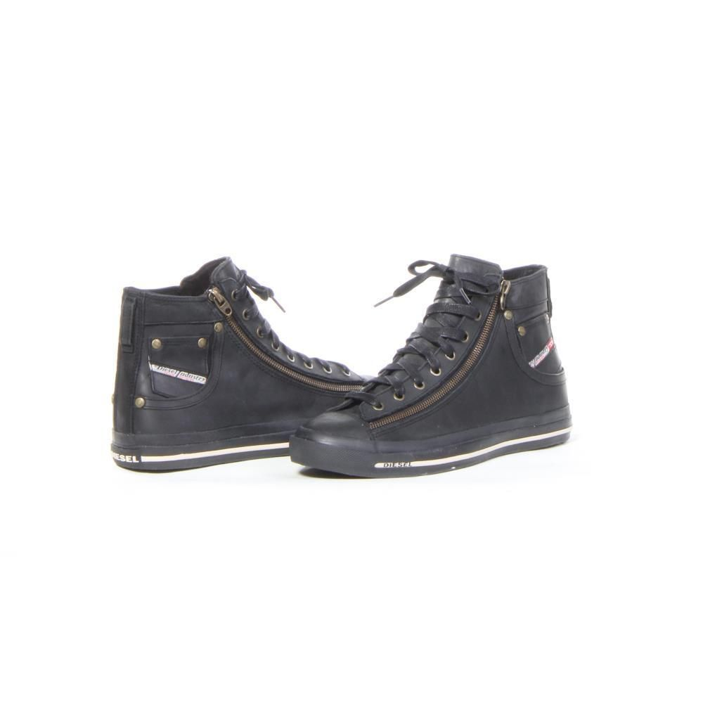 Diesel Shoes Expo Zip Fashion Men Black New | eBay