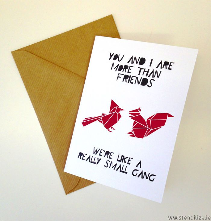 Cute Best Friends Valentines Cardyou And I Are More Than Friends – Funny Best Friend Valentines Day Cards