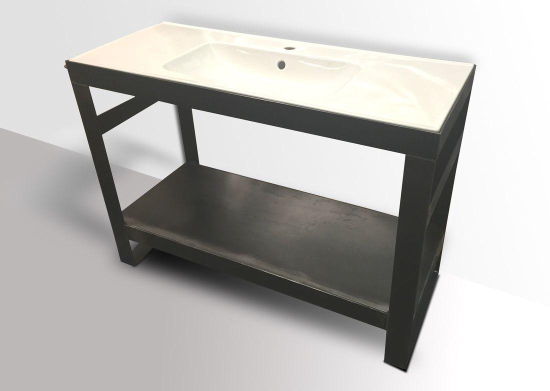 denver colorado industrial furniture modern. industrial steel bathroom vanity wash stand - modern furniture and industrial\u2026 denver colorado industrial furniture modern r