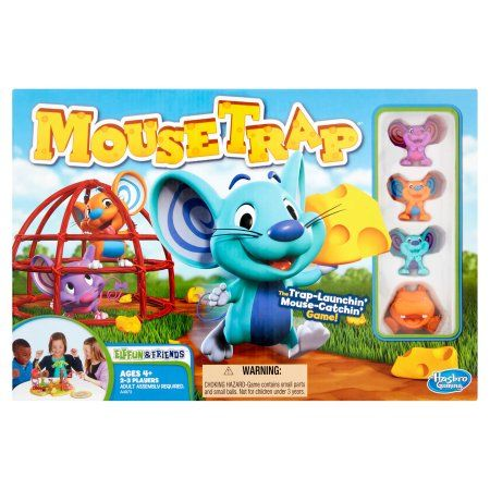 Mousetrap Game Walmart Com In 2020 Mouse Trap Board Game Mouse Trap Game Games