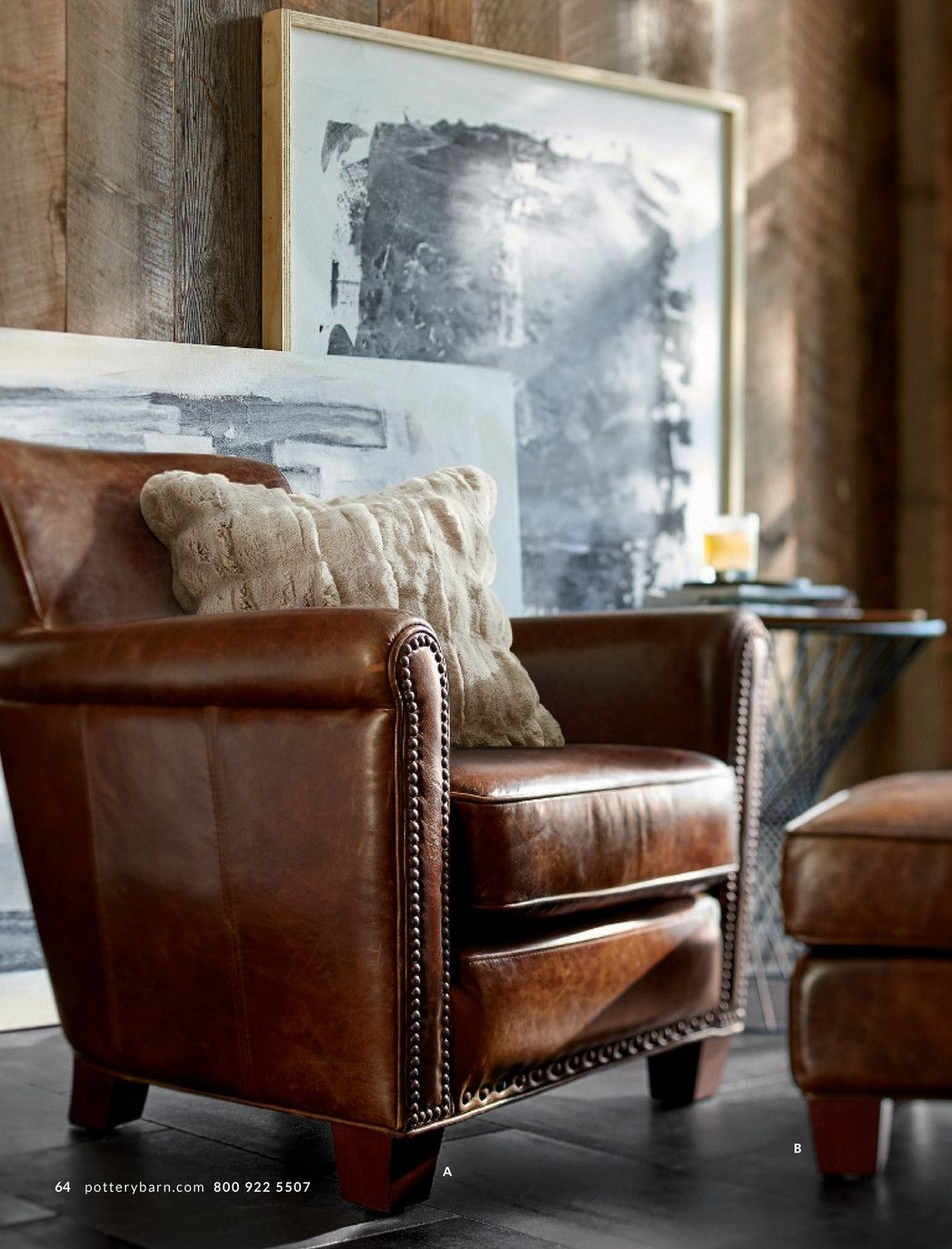 our compact version of the classic club chair offers all the comfort