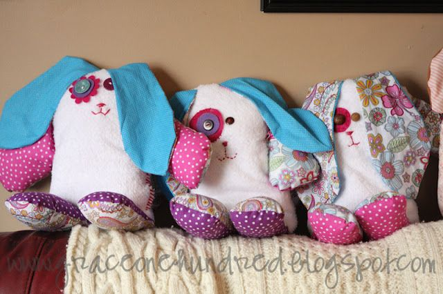 Sweet Bunny plush pattern