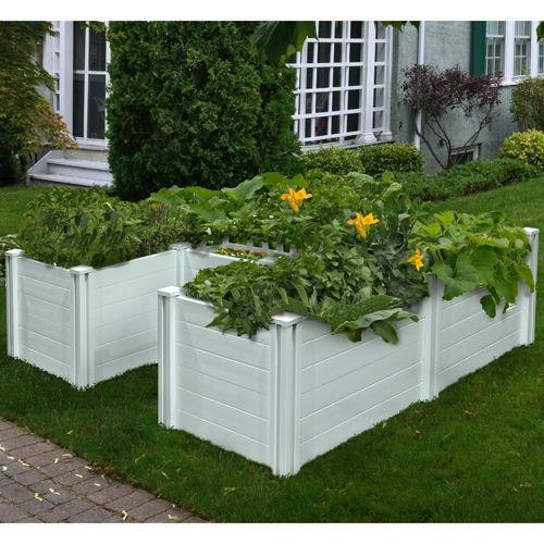 Vegetable Garden Ideas New England keyhole 6' x 6' composting garden bed, i just ordered one from