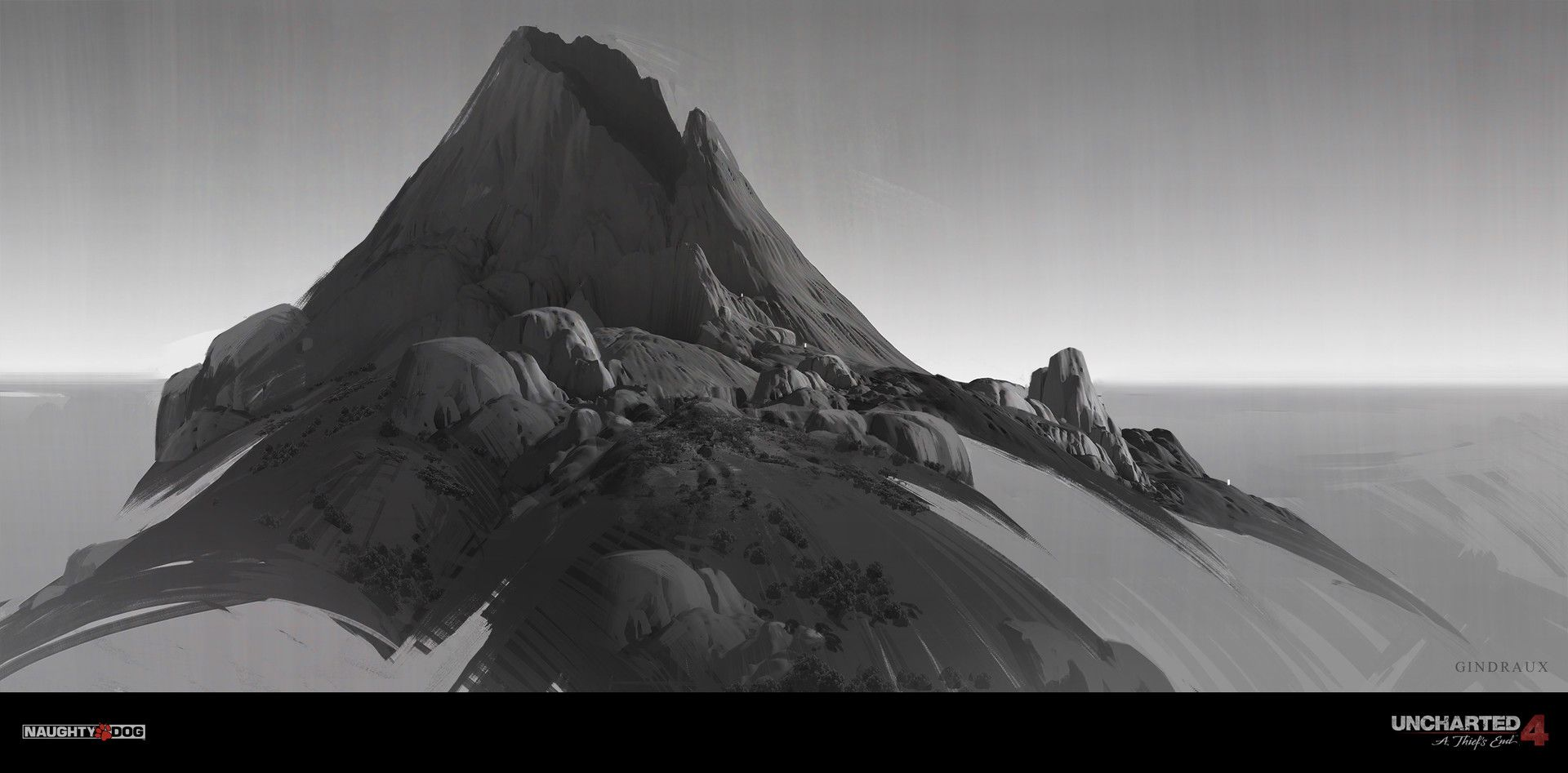 Artstation Uncharted 4 Volcano Nick Gindraux