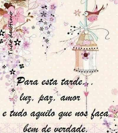Tarde De Luz Paz Amor Mensagem De Boa Tarde Mensagens Boa