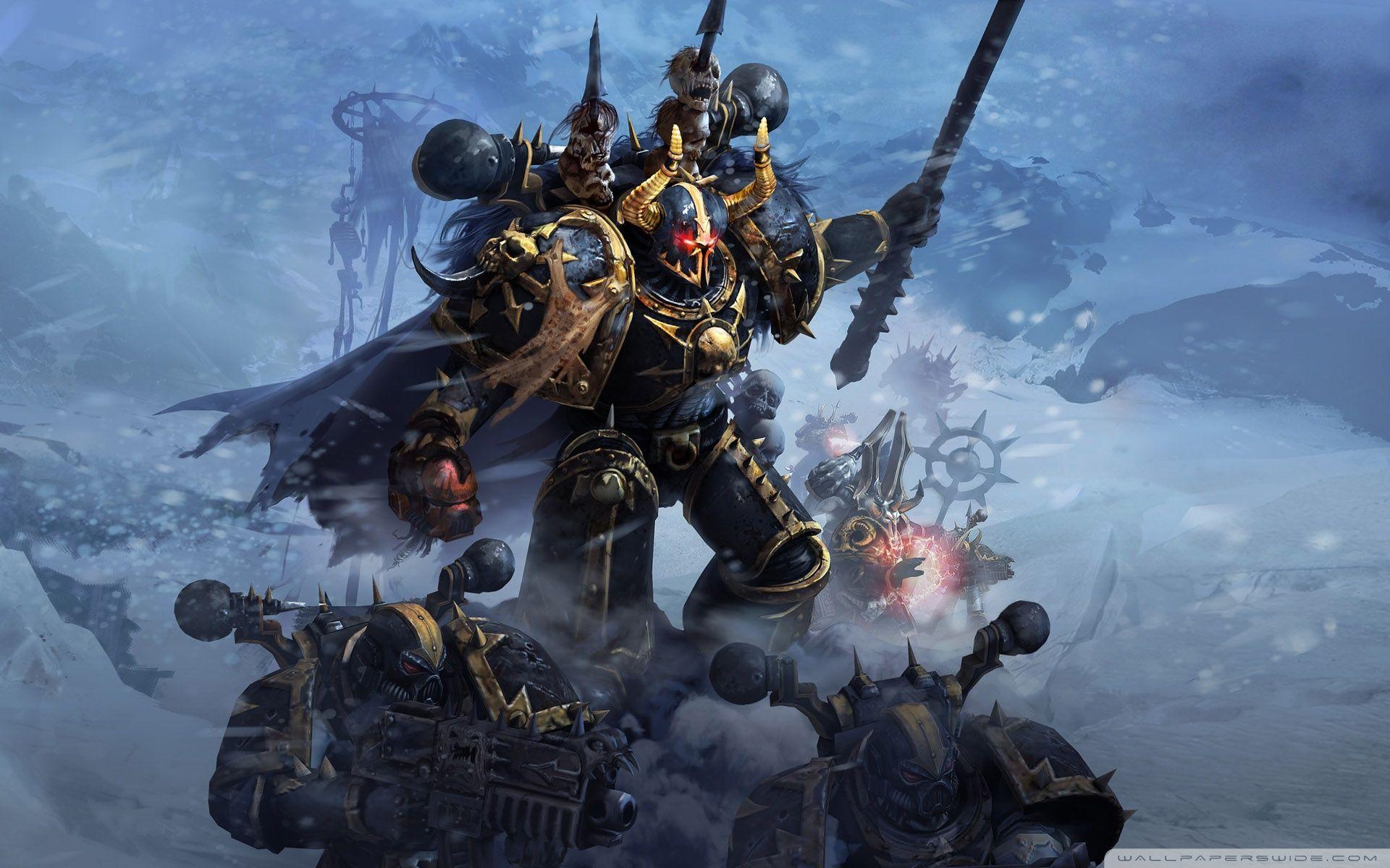 Chaos Marines Warhammer Warhammer 40k Warhammer 40k Artwork