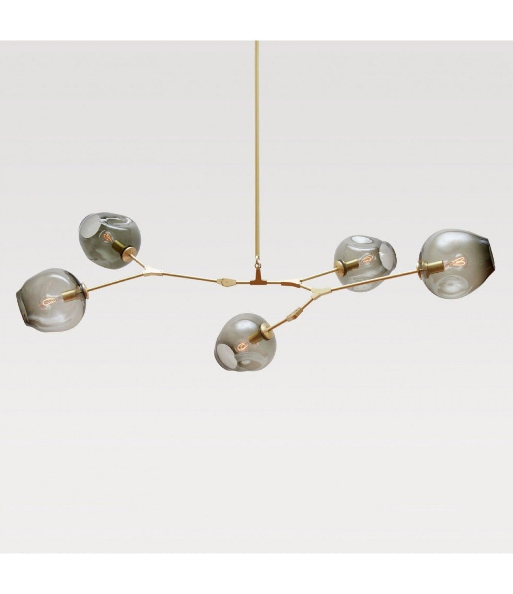lucretia lighting 725 replica lindsey adelman bubble chandelier black or gold finish - Bubble Chandelier