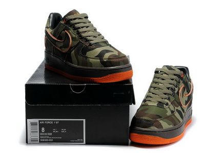 Nike Air Force 1 Camo Gore Tex ATF Bespoke By All Day