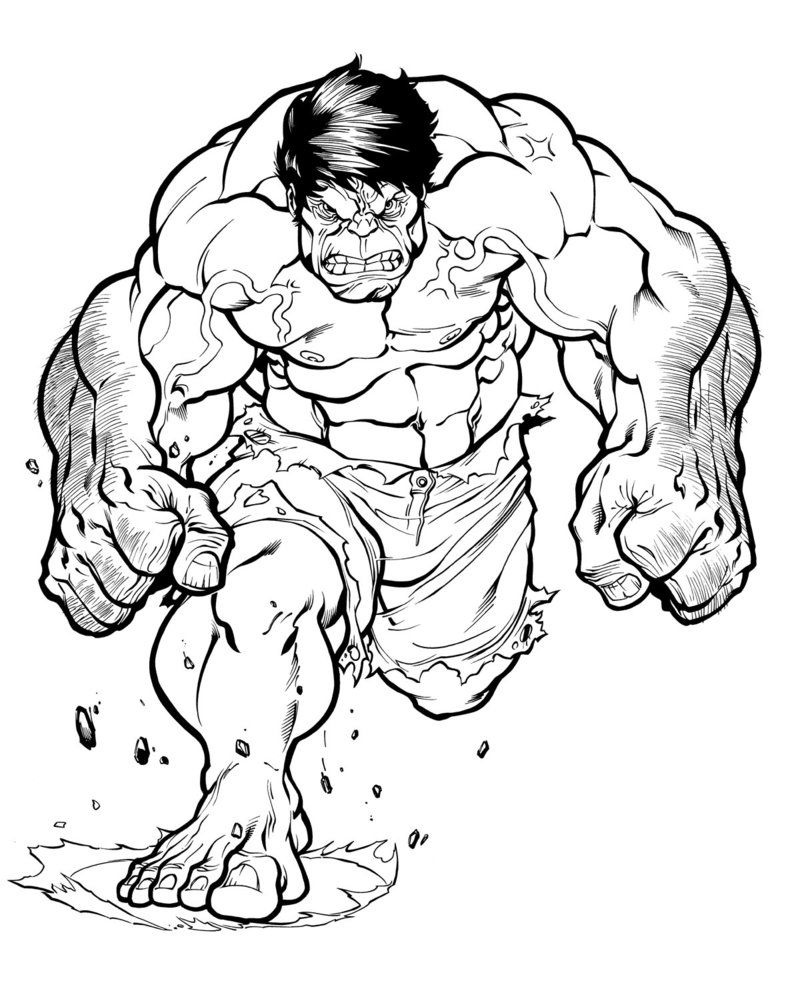 red hulk inked by nicholasgentile on deviantart hulk cartoon art
