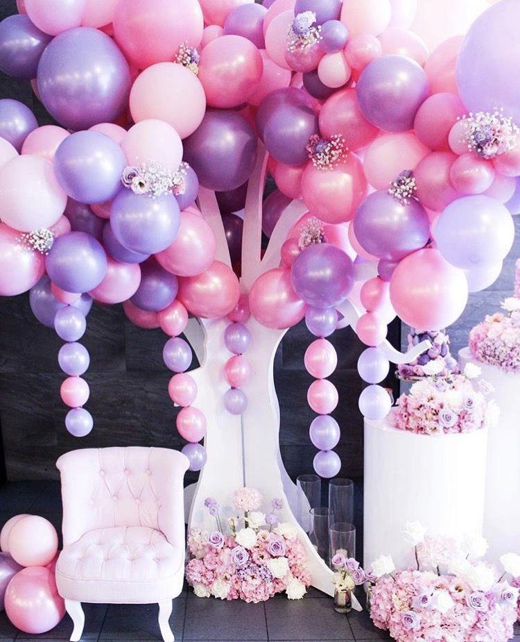 фотографию картинка с красивыми цветами и шариками время очередного
