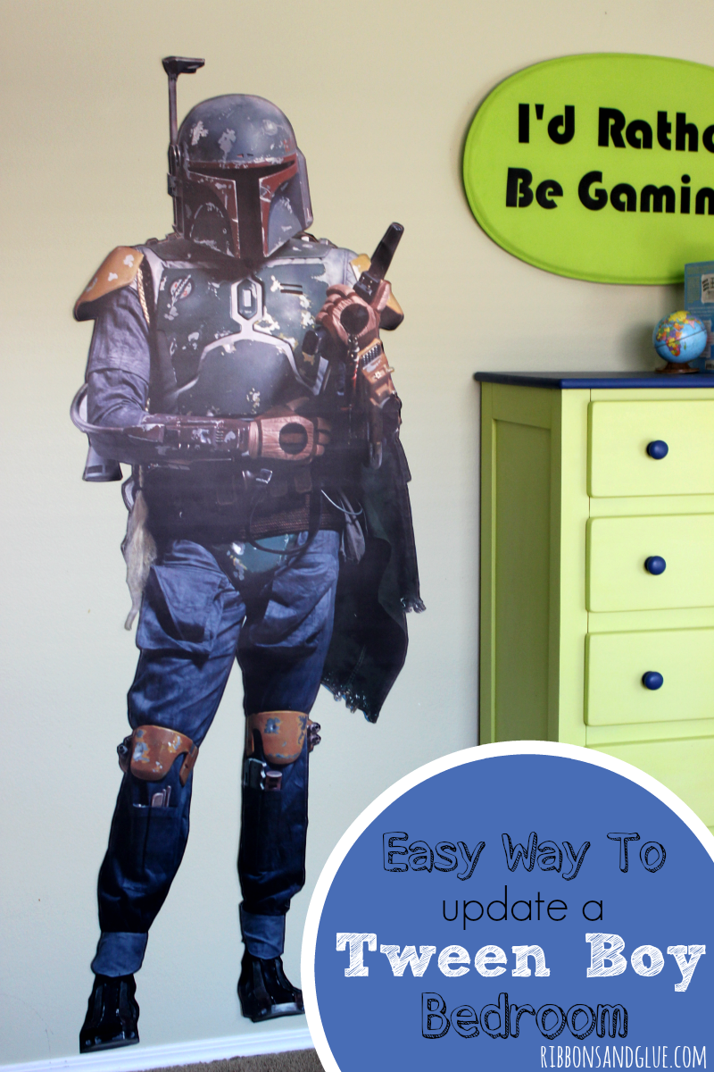 easy way to update a tween boy bedroom tween bedrooms and easy
