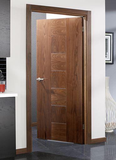 Catalonia Walnut Internal Door Doors Walnut Doors Oak