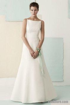 simple wedding dresses a line - Google Search | Dresses | Pinterest