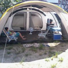 5ec4e0b8f Barraca de Camping 6 Pessoas Quechua T6.2 Air em Promoção - Decathlon