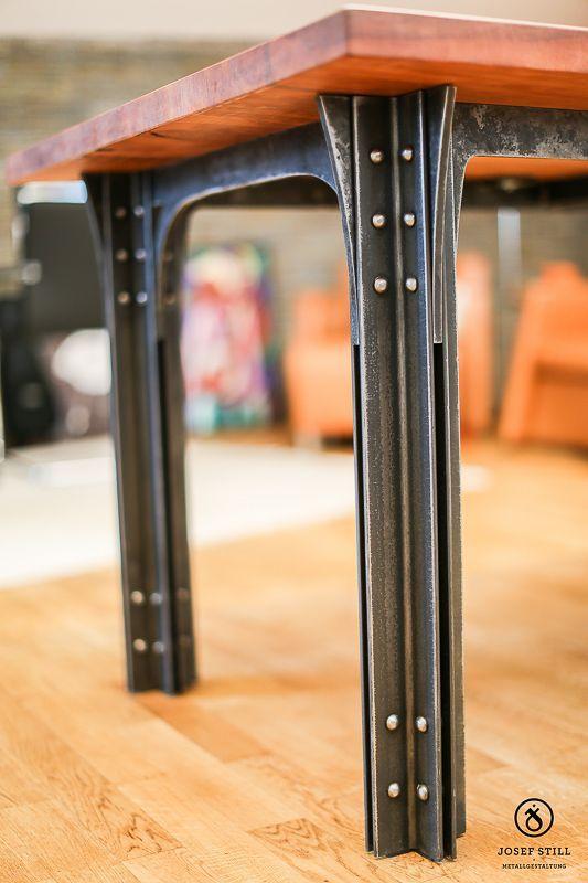 03 Tisch Moebel Kunstschmiede Eisen Muenchen Modern home decor furniture design is part of Industrial design furniture -