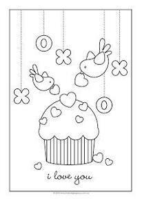 Cup Cake com pássaros
