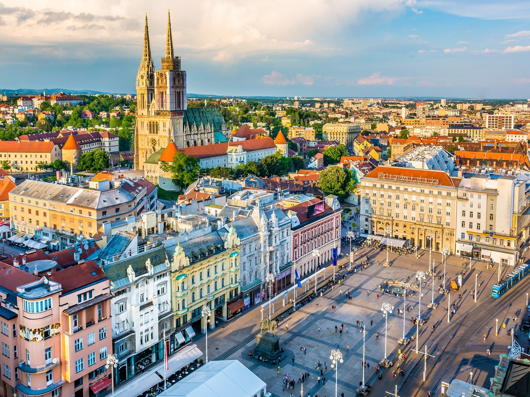 Best Places To Visit In Croatia Conde Nast Traveler Croatia Travel Cool Places To Visit Zagreb Croatia
