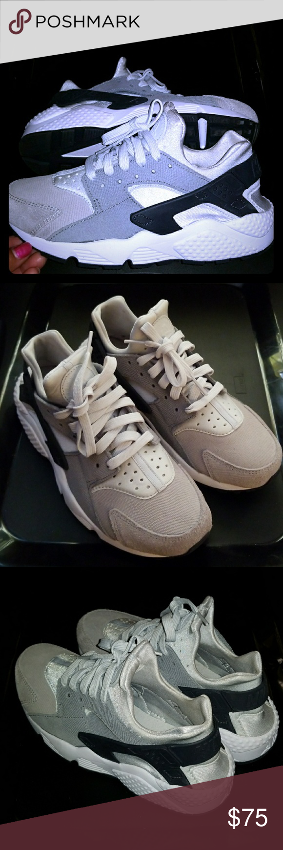 389bbb8476142 ... cheap nike air huarache womens selected style pure platinum clear grey  anthracite 86a55 b7687