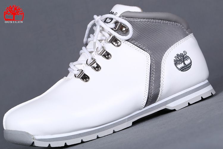 chaussure timberland blanche homme