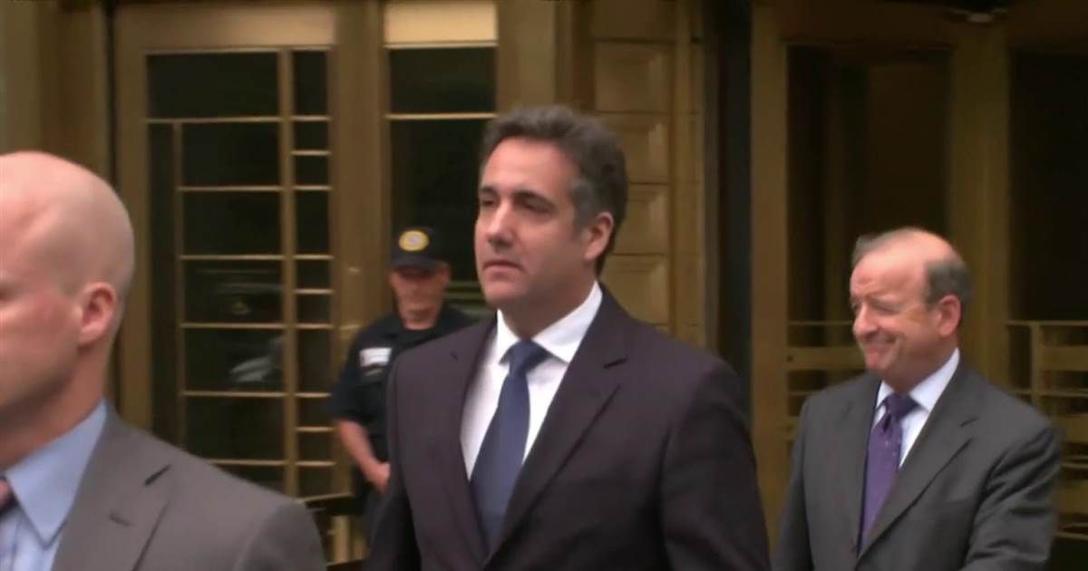 Michael Cohen told ABC's George Stephanopoulos this weekend: